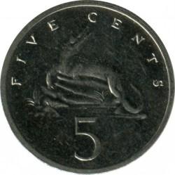 Münze > 5Cent, 1990-1993 - Jamaika  - reverse