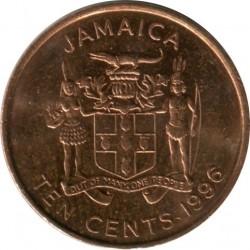 Münze > 10Cent, 1995-2012 - Jamaika  - obverse