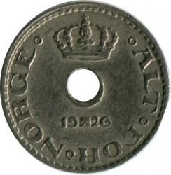 العملة > 10إيري, 1924-1951 - النرويج  - obverse