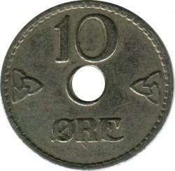 العملة > 10إيري, 1924-1951 - النرويج  - reverse