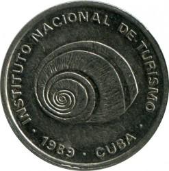 מטבע > 5סנטאבו, 1989 - קובה  (INTUR: Magnetic) - obverse