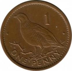 Moneda > 1penique, 1995-1997 - Gibraltar  - reverse