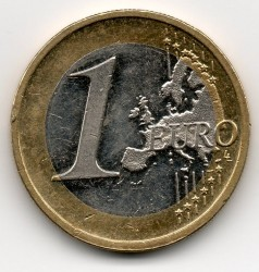 Moneta > 1euras, 2010 - Vokietija  - reverse