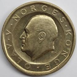 Mynt > 10kroner, 1983-1991 - Norge  - obverse
