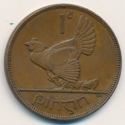 Νόμισμα > 1Πέννα, 1928-1937 - Ιρλανδία  - obverse