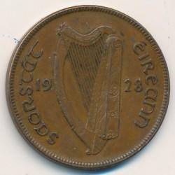 Νόμισμα > 1Πέννα, 1928-1937 - Ιρλανδία  - reverse