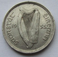 Münze > 3Pence, 1933 - Irland   - obverse