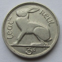 Münze > 3Pence, 1933 - Irland   - reverse
