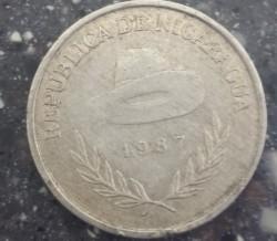 Moeda > 500cordobas, 1987 - Nicarágua  - obverse