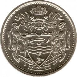 Монета > 25центів, 1967-1992 - Гайана  - obverse