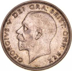 Moeda > ½coroa, 1927 - Reino Unido  - obverse
