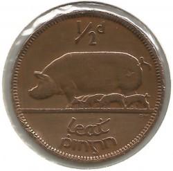 Moeda > ½pence, 1928-1937 - Irlanda  - obverse