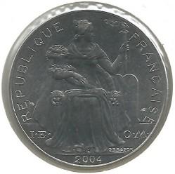 سکه > 5فرانک, 1975-2018 - پولینزی فرانسه  - reverse