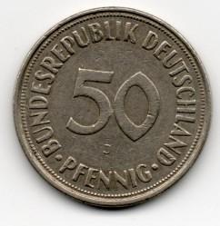 50 Pfennig 1968 Deutschland Münzen Wert Ucoinnet