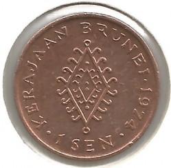 Moneta > 1senas, 1968-1977 - Brunėjus  - reverse