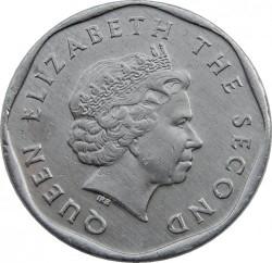 Minca > 1cent, 2002-2013 - Východný Karibik  - obverse