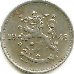 Münze > 1Mark, 1948 - Finnland  - obverse