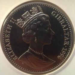 Moneta > 1corona, 1994 - Gibilterra  (Preservare il pianeta terra - Elefante ) - obverse