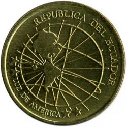 Moneta > 1sentavas, 2000-2003 - Ekvadoras  - obverse
