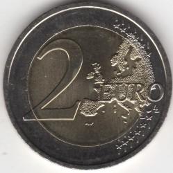 Moeda > 2euro, 2015 - Eslováquia  (Bicentenário do Nascimento de Ľudovít Štúr) - reverse