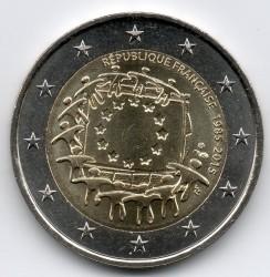 Монета > 2євро, 2015 - Франція  (30 років прапору Європейського союзу) - obverse