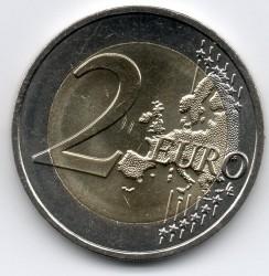 Монета > 2євро, 2015 - Франція  (30 років прапору Європейського союзу) - reverse