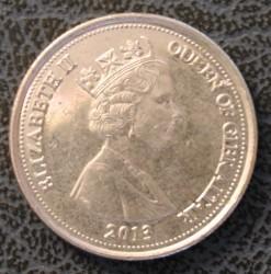 Coin > 10pence, 2012-2013 - Gibraltar  - obverse