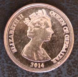 מטבע > 5פנס, 2014-2016 - גיברלטר  - obverse