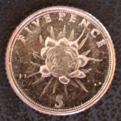 מטבע > 5פנס, 2014-2016 - גיברלטר  - reverse