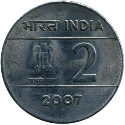 Mynt > 2rupier, 2005-2007 - India  - obverse