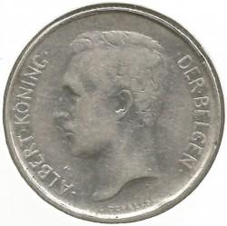 Coin > 2francs, 1911-1912 - Belgium  (Legend in Dutch - 'ALBERT KONING DER BELGEN') - obverse