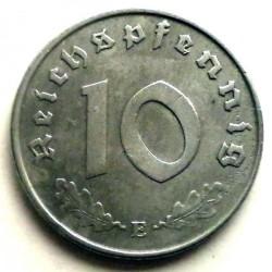 Pièce > 10reichspfennig, 1940-1945 - Allemagne - Troisième Reich  - reverse