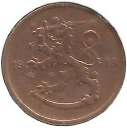 Münze > 5Penny, 1918 - Finnland  (Lion on the obverse) - reverse