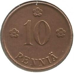 Münze > 10Penny, 1921 - Finnland  - reverse