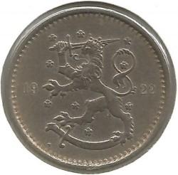 Münze > 1Mark, 1922 - Finnland  - obverse