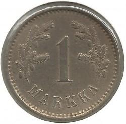 Münze > 1Mark, 1922 - Finnland  - reverse