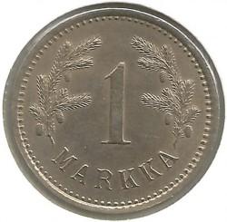 Münze > 1Mark, 1921 - Finnland  - reverse