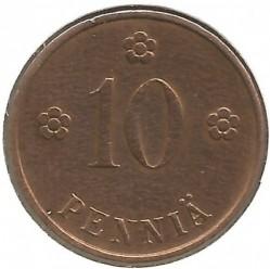 Münze > 10Penny, 1937 - Finnland  - reverse
