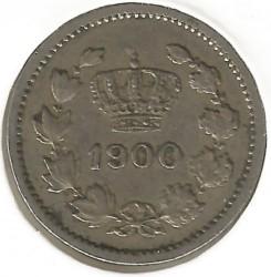 מטבע > 10באני, 1900 - רומניה  - reverse