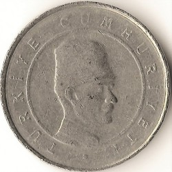 Coin > 10newkurus, 2005 - Turkey  - reverse