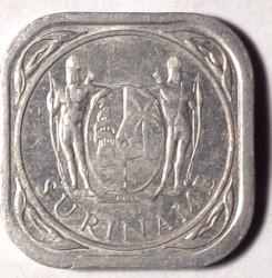 العملة > 5سنت, 1976-1986 - سورينام  - obverse
