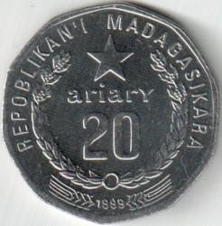 Кованица > 20ариариа, 1999 - Мадагаскар  - obverse