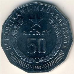 Кованица > 50ариариа, 1996-2005 - Мадагаскар  - obverse