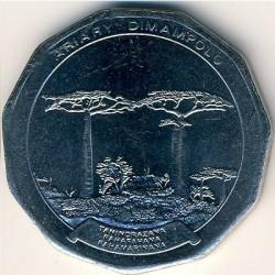 Кованица > 50ариариа, 1996-2005 - Мадагаскар  - reverse
