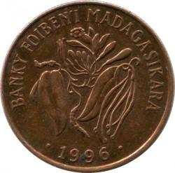 錢幣 > 10法郎, 1996 - 馬達加斯加  - reverse