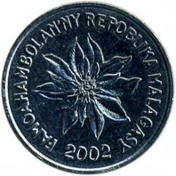 錢幣 > 1法郎, 1965-2002 - 馬達加斯加  - obverse