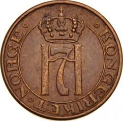 Moneda > 1ore, 1908-1952 - Noruega  - obverse