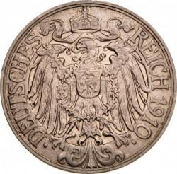 Coin > 25pfennig, 1909-1912 - Germany  - obverse