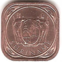 العملة > 5سنت, 1987-2015 - سورينام  - reverse