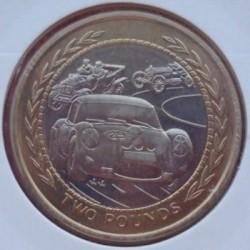 Moneta > 2funty, 1997 - Wyspa Man  (Bimetal) - reverse